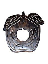 Wooden Antique Apple Shape Key Holder - Onlineshoppee