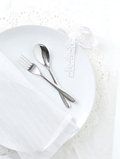 Stainless Steel Baby Fork And Spoon Set Of 12 - By