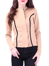 Fawn Closed Neck Jacket -  online shopping for jackets