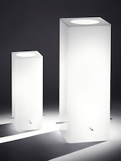 White Beauty Acrylic Table Lamp - Printfry