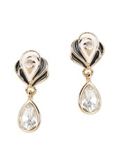 Beautiful Monochrome Drop Earrings - YOUSHINE