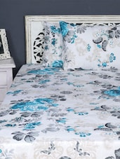 Double Bedsheet With Pillow Cover - Aarya Home - 962502