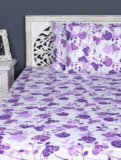Double Bedsheet With Pillow Cover - Aarya Home - 962504