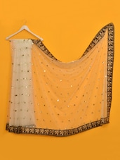 Fabulous Off White Net Saree - Vamika
