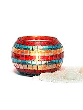 Gifts By Meeta Multicolour T Light Holder Home Décor Gift For Diwali DIWALIGIFTS10754 - By