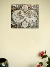 Vintage World Map 01 Poster - Seven Rays
