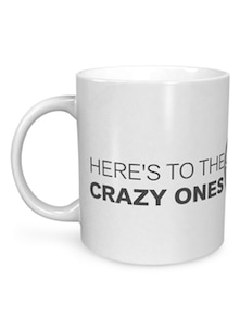 Steve Jobs Here To The Crazy Ones Mug - Seven Rays