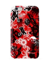 Jazz Red Printed  Mobile Case -Iphone6 - Case Me Up