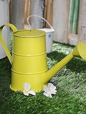 Watering Can Yellow - By