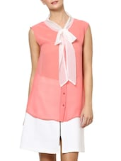 Tie Me A Bow Stunning Pink Top - Palette