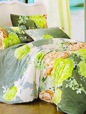 Magical Floral Printed Bed Linen With Pillow Covers - Skap