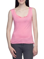 Pink Tank Top - By