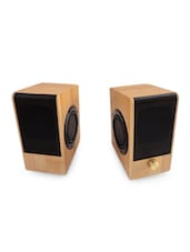 Natural Color Bamboo Speakers - Techno Cane
