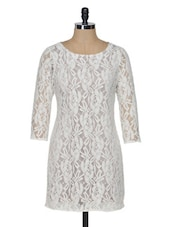Lace Shift Dress - KARYN