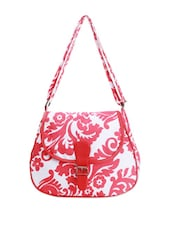 Printed Cotton Everyday Sling Bag - Art Forte