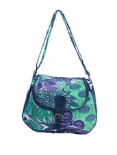 Abstract Print Casual Sling Bag - Art Forte