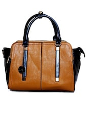 Chic Tan Brown Hand Bag - Diana Korr