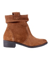 Brown Suede Boots - Urban Country