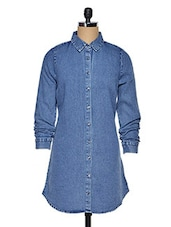 Blue Denim Full Sleeve Shirt - Oxolloxo