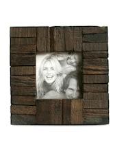 Brown Reclaimed Wood Frame - Inspired Livingg