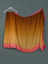 Brown Ombre Chiffon Designer Party Wear Saree - Aakriti