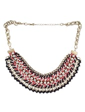 Multi Colour Alloy Necklaces - By