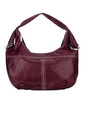 Bright Maroon Shoulder Bag - Bags Craze