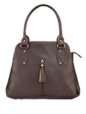 Classy Brown Tote - Bags Craze