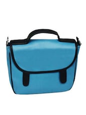 Blue Sunflap Sling Bag - La Volsa