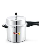 Deluxe Aluminum Pressure Cooker 10 Litres - By