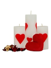 Love Candles For Valentine - Gifts By Meeta
