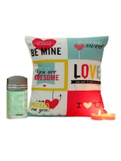 Perfume With Love Cushion - Gifts By Meeta