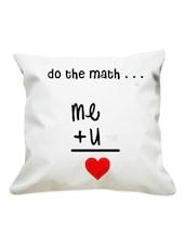 U & Me Valentine Cushion - Gifts By Meeta