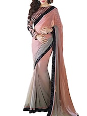 Embroidery Work With Lace Border Dupatta - By