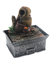 Rust Brown Polyresin fountain -  online shopping for Fountains