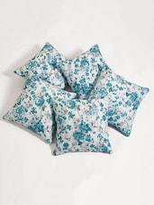 "Cushion Cover Printed (Set Of 2) 12""X12"" - SWAYAM"