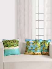 Digitally Printed Deco Cushion Cover (2 Pcs Set) - SWAYAM