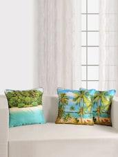 Digitally Printed Deco Cushion Cover (2 Pcs Set) - SWAYAM