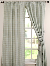 Deco Window Curtain Jute Cord  Light Sea Form  8ft  Door Curtain - By