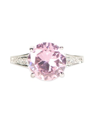 Pink Charming Crystal Ring -  online shopping for rings