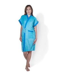 Classic Cotton Bath Gown - PRIVATELIVES 9816