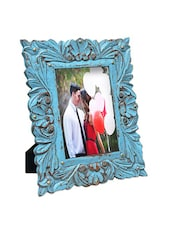 Rustic Blue Photo Frame - The Yellow Door
