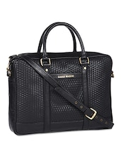 black leatherette laptop  bag -  online shopping for Laptop bags