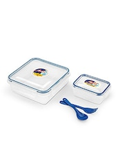 AIR TIGHT & LEAK PROOF ROUND CONTAINER 825 Ml LUNCH BOX - By