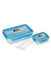 AIR TIGHT & LEAK PROOF ROUND CONTAINER LUNCH BOX 800 Ml (MULTI COLOUR) - By