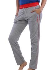 Grey Full Length Track Pants - Lango