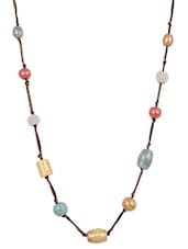 Multi Colour Ceramic Beads Necklace - Mesmerizink
