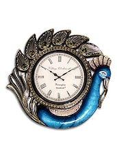 RoyalsCart Peacock Analog Wall Clock ( Height 12 ) -  online shopping for Wall Clocks