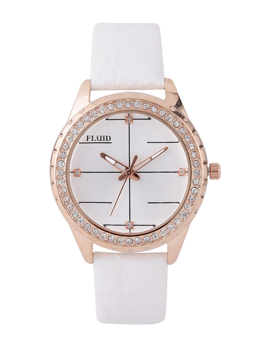 Upto 55% Off On Watches By Limeroad | Fluid Fashion Designer Dial Watch @ Rs.1,380