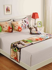 Multicolored Pure Cotton  Pillows And Cushion Cover Set - By